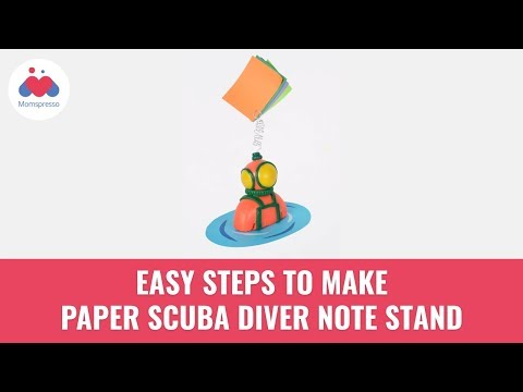 Guide To Make A Note Stand At Home | DIY Paper Crafts | Creative Origami Ideas | Momspresso