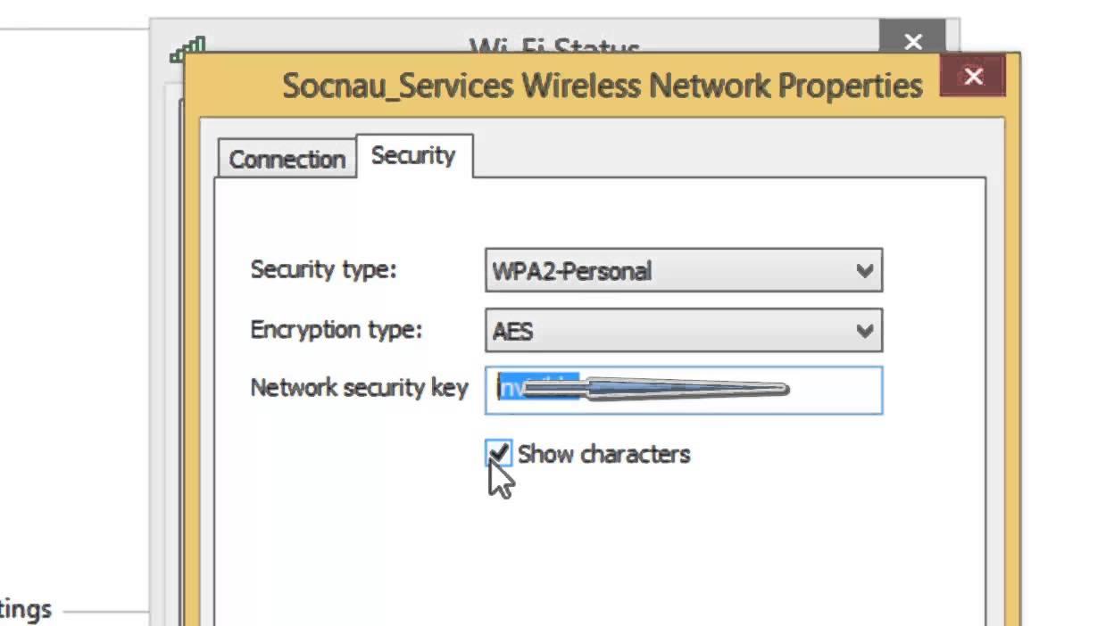 Xem lại mật khẩu Wifi đã kết nối trên Windows 8.1