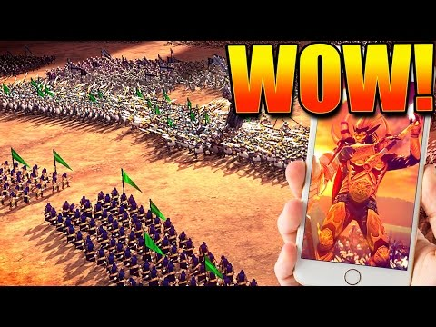 HOW IS THIS A MOBILE GAME?! // Dawn of Titans Episode #1