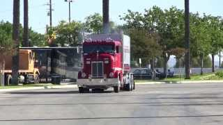 Hofstee Farms 1955 Peterbilt 350 Cab-Over Doing A Quick Roll-By At TFK 2013