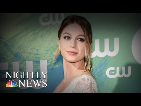 'Supergirl' Actress Melissa Benoist Opens Up About Domestic Violence | NBC Nightly News