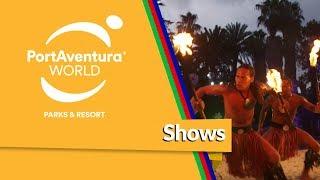 Viaja a través de los shows de #PortAventura Park