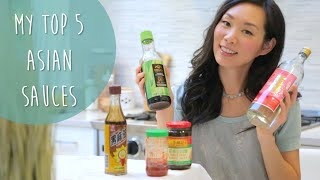 TOP 5 ASIAN SAUCES FOR COOKING | Angel Wong's Kitchen