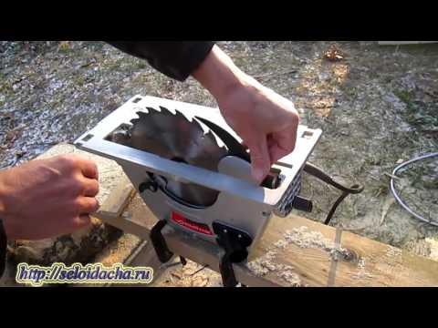 Ручная дисковая пила Интерскол  Как выбрать электрическую пилу
