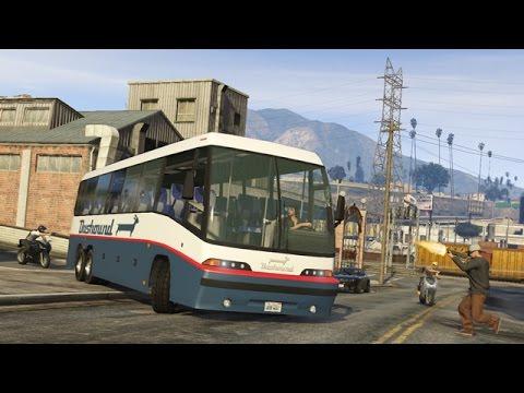 Làm Tài Xế Xe Bus Phương Trang Trong GTA V #4 Chiến Xe Bắt Ổn Đi Nha Trang Cùng - ThanhTrungGM