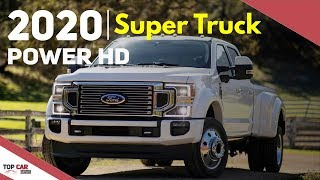 2020 Ford F-Series Super Duty - Interior and Exterior