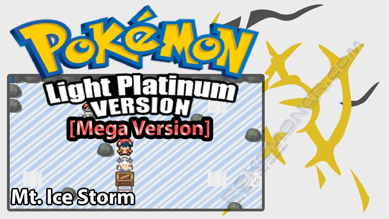 pokemon mega light platinum