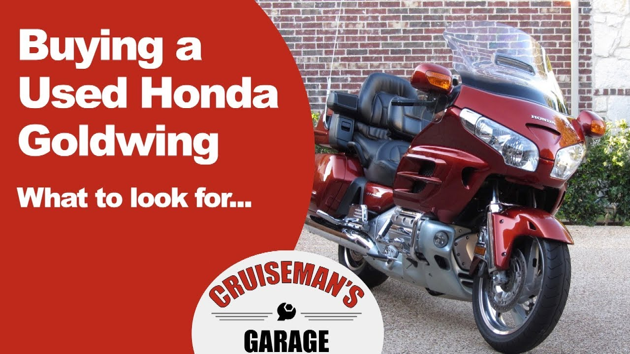 Tips On Buying A Used Honda Goldwing Gl1800 Youtube