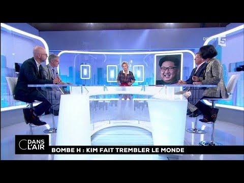 Bombe H : Kim fait trembler le monde  #cdanslair  04.09.2017