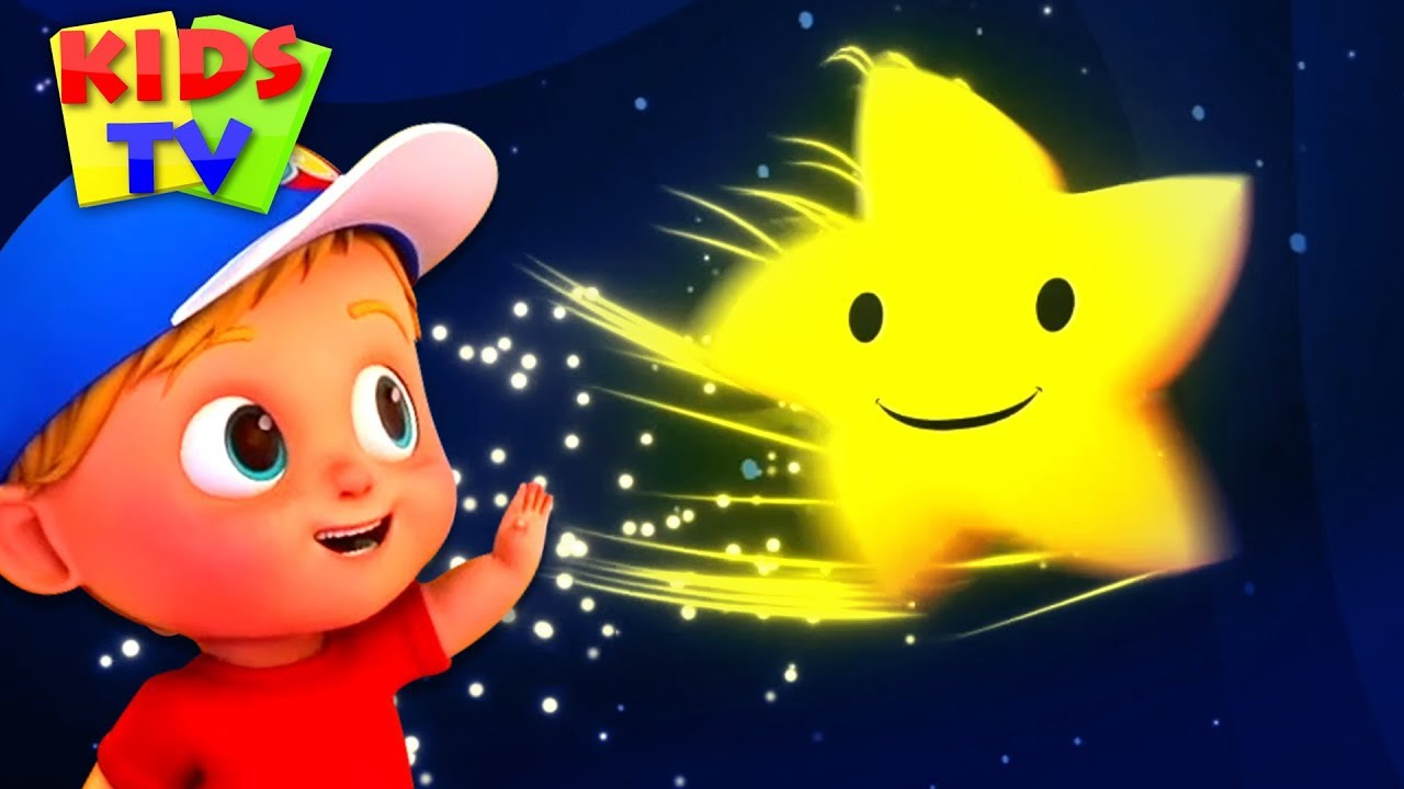 Twinkle Twinkle Little Star | Kindergarten Nursery Rhymes & Songs for Kids | Junior Squad Cartoons