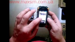 Видео обзор защищенного смартфон Landrover J5 Mini(Видео обзор защищенного смартфон Landrover J5 Mini с диагональю экрана 2.4 дюйма., 2015-11-18T19:33:43.000Z)