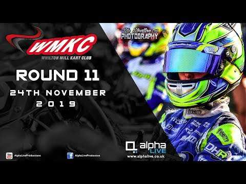 Whilton Mill Kart Club Round 11 LIVE From Whilton Mill