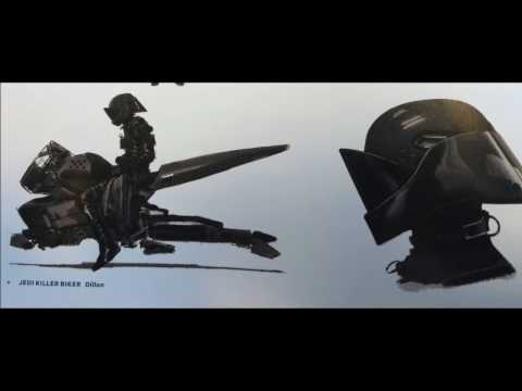 STAR WARS The Force Awakens Unused Concept Art SHIPS! Part 5
