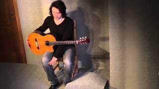 Урок 6. Как правильно держать гитару.