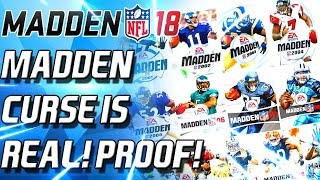 100% PROOF THE MADDEN CURSE IS REAL! TOM BRADY! MADDEN 18! BEWARE!