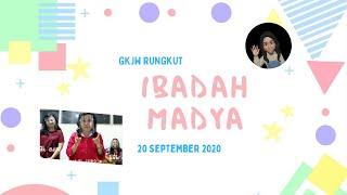 Ibadah Madya 20 September 2020 I GKJW Rungkut