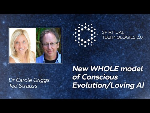 New whole model of conscious evolution and loving artificial intelligence