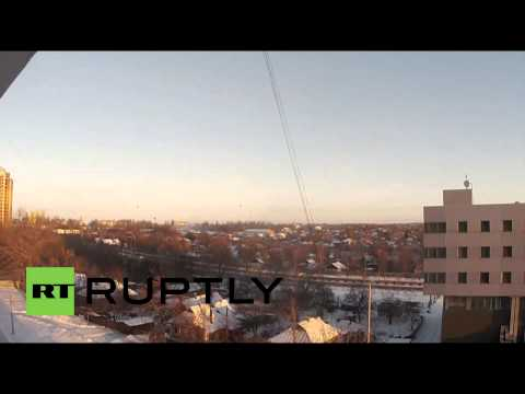 Ukraine: Heavy Donetsk Airport fighting goes on into morning