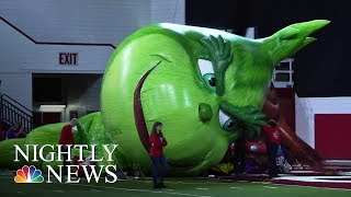 How The Macy's Thanksgiving Day Parade Comes To Life | NBC Nightly News
