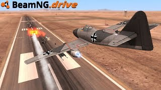 BeamNG.drive - MISSILE LAUNCHING JET BEST MOD EVER