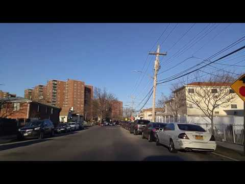 Driving by Rochdale in Queens,New York