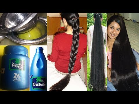 1 हफ्ते बालों में लगा लो बाल इतने लम्बे हो जायेंगे की कटबाने पड़ेगे - HOW TO GROW HAIR FAST 5 INCHES - 동영상