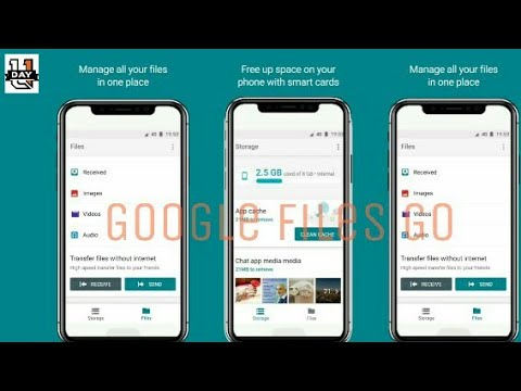Google Files Go File manager , features & download