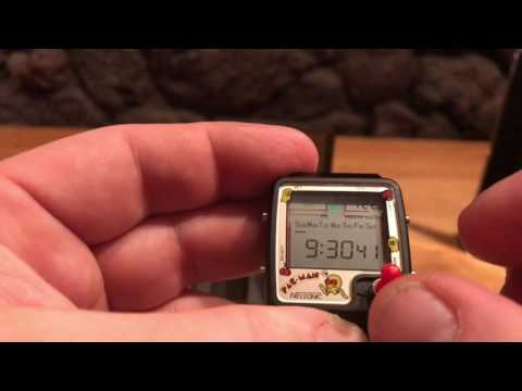 PAC-MAN Game Watch By Nelsonic Joystick Version Demo