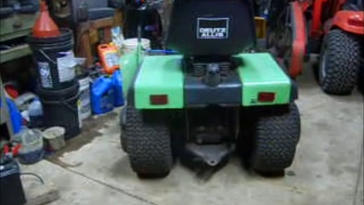 Deutz Hydraulics & PTO wiring on