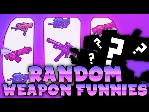 BO3 Random Weapon Funny Moments - A bad Locus Sniper