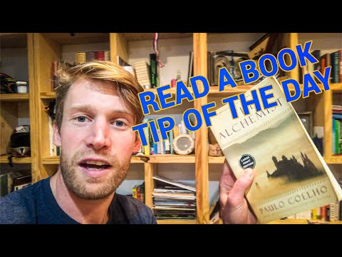 Read a book - Tip of the Day
