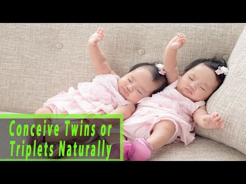 How to Conceive Twins or Triplets Naturally