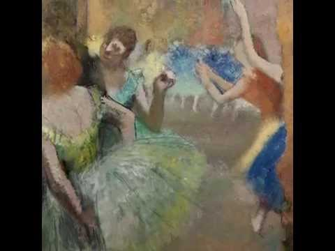 The Impressionist Series: 'Scène de ballet' by Edgar Degas