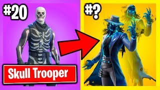 Fortnite: RANKING HALLOWEEN SKINS FROM WORST TO BEST!