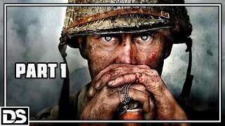 Call of Duty WW2 Gameplay German Part 1 - D Day - Let's Play Call of Duty WW2 Singleplayer Deutsch