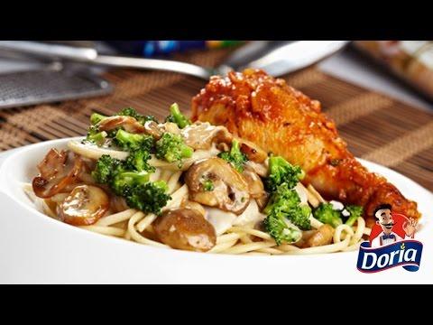 spaghetti doria con hogao