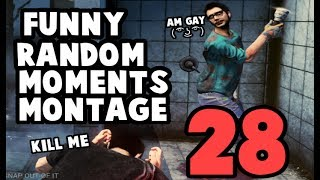 Dead by Daylight funny random moments montage 28