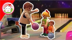 Playmobil Film deutsch - Bowling mit Familie Hauser - Geschichte für Kinder