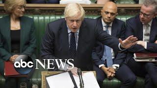 Boris Johnson faces major defeat in Brexit battle l ABC News