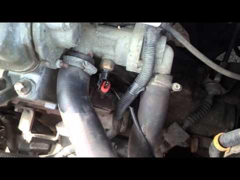 Замена датчика включения вентилятора охлождения ваз 2114