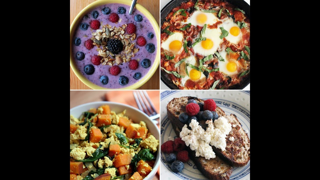 Healthy Breakfast Ideas! Summer Breakfast Recipes!