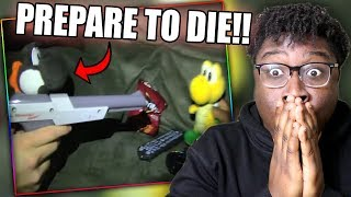BLACK YOSHI HAS BEEF WITH JOSEPH! | SML Movie: The Call Of Duty Blackout Reaction!