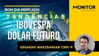 TENDÊNCIAS - IBOVESPA E DÓLAR FUTURO - 17/09/2021