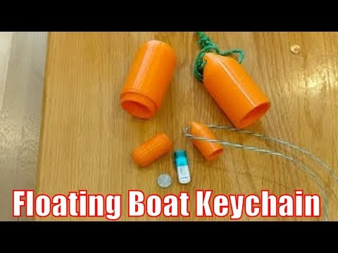 LiVE! 3D Printer - Floating Boat Keychain