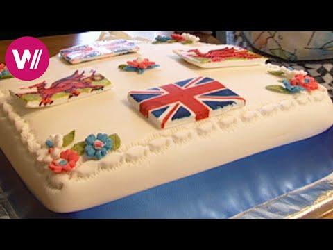 Zu Tisch in Wales - Wo patriotische Kuchen gebacken werden