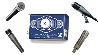 CLOUD Cloudlifter CL-Z Mic Activator Preamp for Dynamic/Ribbon/Tube - UofA Prof. Wiley Ross