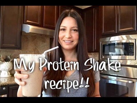 My Protein Shake Recipe!!!