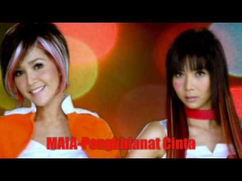 MAIA featuring CINTA LAURA - Pengkhianat Cinta HQ