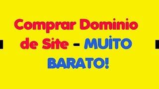 Comprar Domínio de Site - MUITO BARATO!