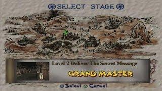 Tenchu : Stealth Assassins Walkthrough - Level 2 (PSX)